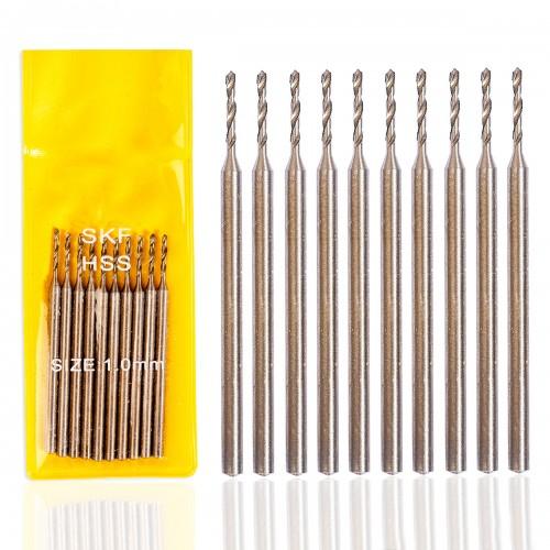 0.7 mm HSS Kalın Sap Matkap Ucu (10 Adet) 1