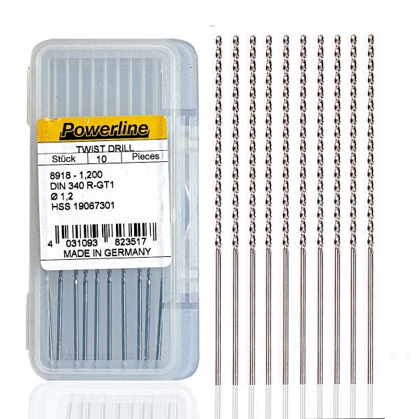 1.0 mm Uzun Matkap Ucu - 1 Adet 1