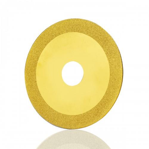 100 mm Titanyum Kaplı Elmas Disk 1