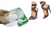 Kaydırmaz Topuklu Ayakkabı Tabanlığı Şeffaf