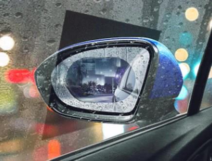 Araba Cam ve Ayna Yağmur Kaydırıcı Film (Çift) 2