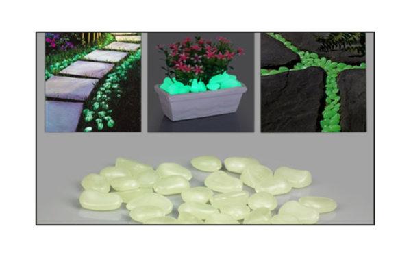 Fosforlu Çakıl Taşları ( 50 adet )