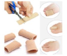 Parmak Ayırıcı Kumaş (2 Adet) 1
