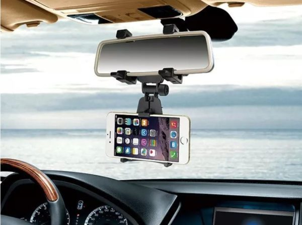 Araba Dikiz Aynasına Takılan Telefon Tutucu