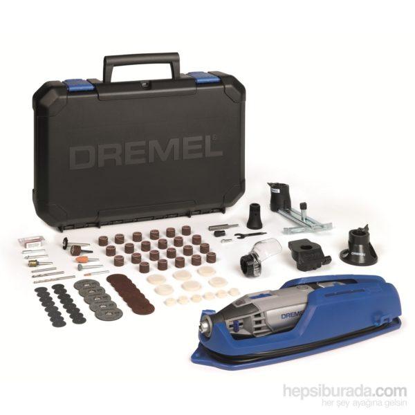 Dremel 4200: 4 Bağlantı Parçası ve 75 Aksesuarlı El Motoru Sistemi 1