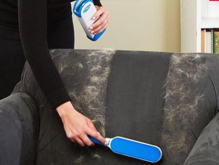 Tüy Toz Temizleyici Fırça Seti 2li Mavi KUTULU 1