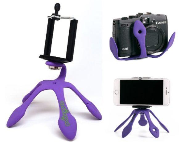 5 Ayaklı Portatif Telefon Tutucu