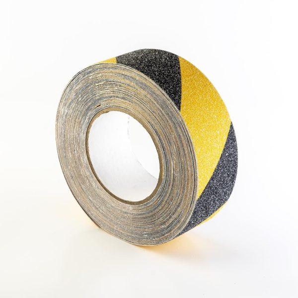Kaydırmaz Bant Siyah Sarı-50 mm x 15 mt. 1