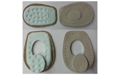 Topuk Dikeni İçin Delikli Yastık (1 Çift)