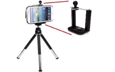 Telefon ve Kamera Tutucu Tripot Ayak 20 cm (Telefon Tutuculu)