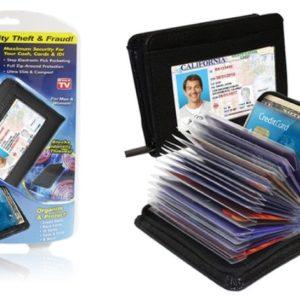 Lock Wallet Güvenlikli Kartlık 36 Kart Kapasiteli