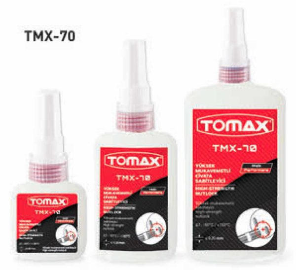 Tomax Sökülmez Cıvata Sabitleyici-250 ml 1