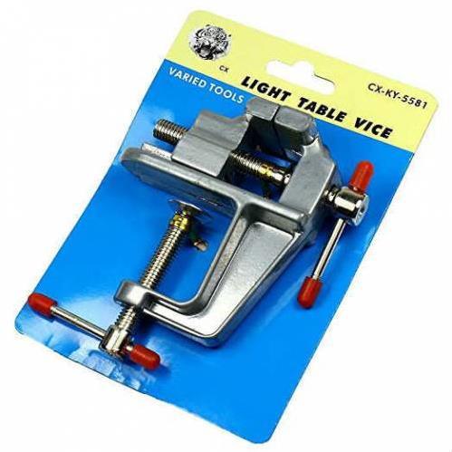 İşkence Aleti 30 mm Mengene Alüminyum Döküm Sıkma Sabitleme Aleti Mini Boy 2