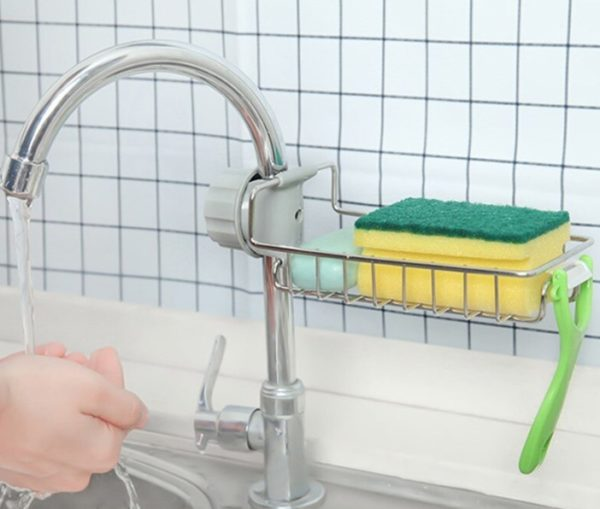 Mutfak ve Banyo Organizer Demir Raf Tek Kat 2