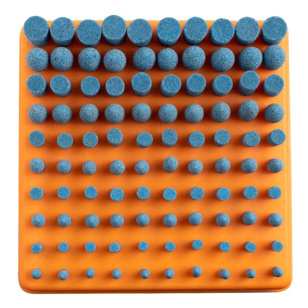 Hobi Bileme Taş Seti Mavi 100 Parça Dremel Uyumlu 2