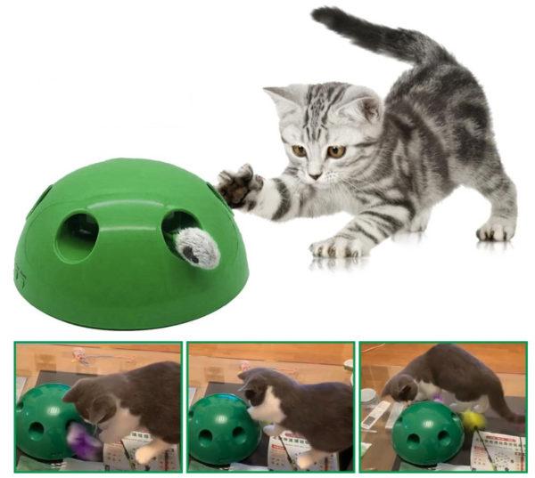 Kedi Fare Yakalama Oyuncağı 360 Hareketli 1