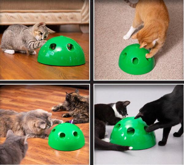 Kedi Fare Yakalama Oyuncağı 360 Hareketli 2