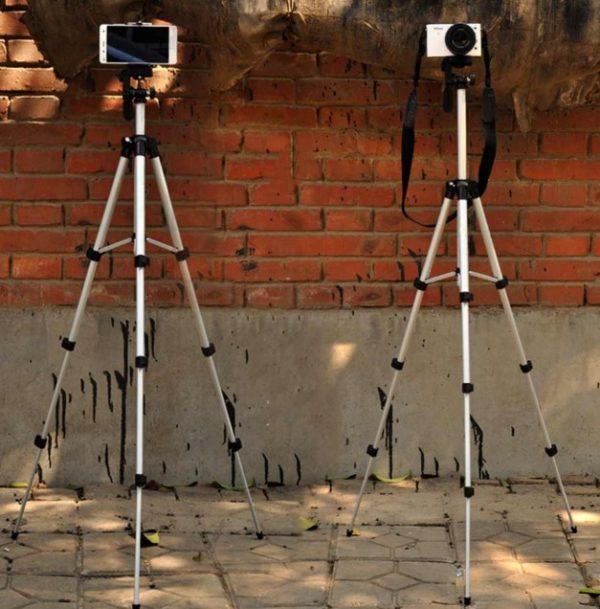 Telefon ve Kamera Tutucu Tripot Ayak 150 cm (Telefon Tutuculu) 2