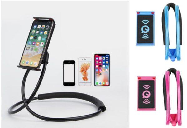 Boyuna Asılan Telefon Tutucu Portatif Stand 1