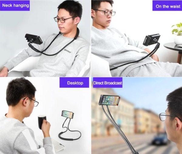 Boyuna Asılan Telefon Tutucu Portatif Stand 2
