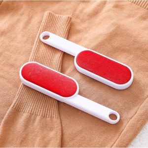 Toz Alma Fırçası Çift Taraflı Kırmızı