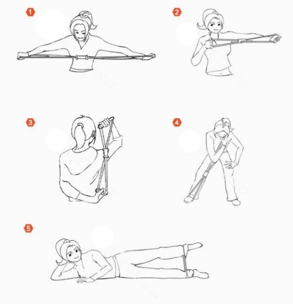 Plates, Egzersiz Direnç Lastiği 3