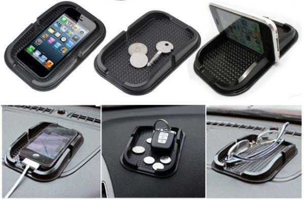 Araba Telefon Tutucu Kaydırmaz Havuzlu Ped 1