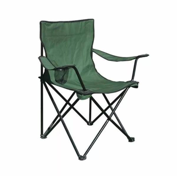 Katlanır Kamp-Piknik Sandalyesi Yeşil (Taşıma Çantalı) 1