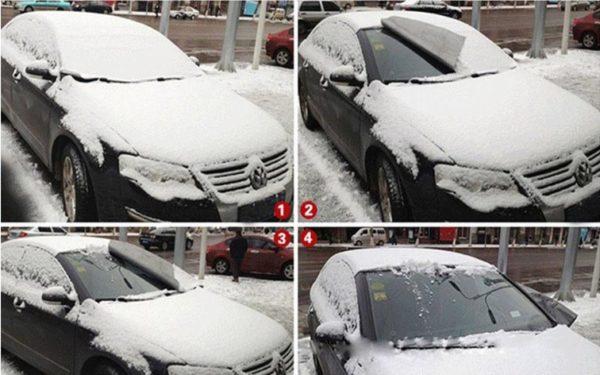 Araba Ön Cam Buz Önleyici Branda 150*70cm 2