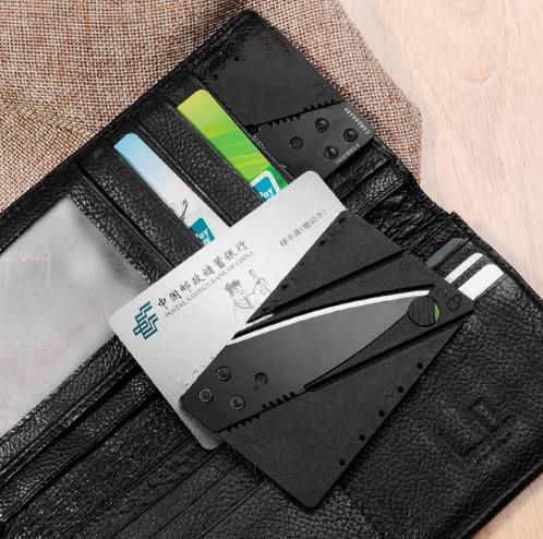 Kredi Kartı Şeklinde Bıçak (Kutusuz) 3