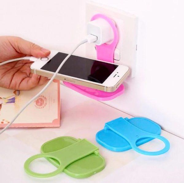 Telefon Tutucu Priz İçin Şarj Standı
