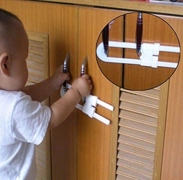 Çocuk Koruma Raylı Dolap Kilidi 2