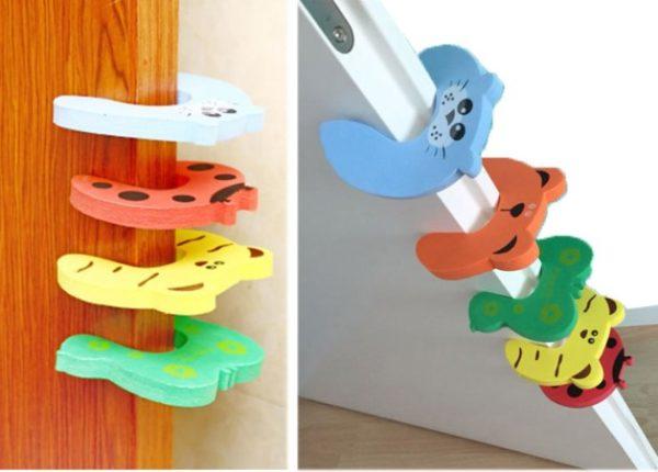 Çocuk Koruyucu Kapı Stoperi 4 lü Set 2