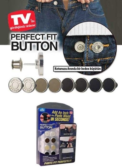 Perfect Fıt Button Yedek Kot Düğmesi Seti