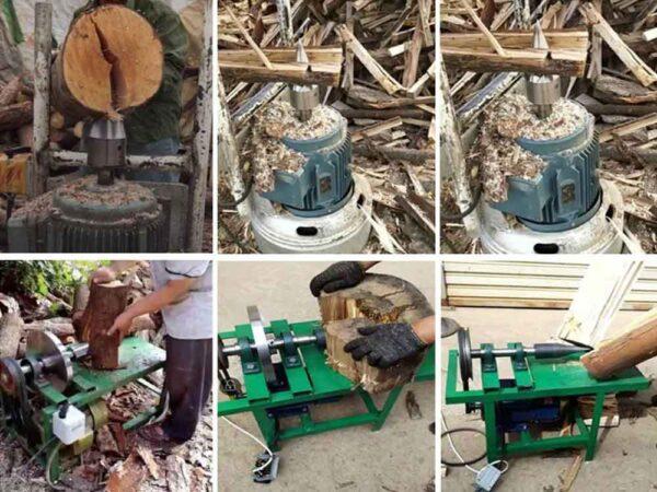Ahşap Odun Kütük Ayırma Yarma Ucu Ağır Hizmet 6
