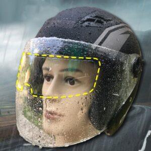 Motosiklet  Kaskı İçin Yağmur Kaydırıcı