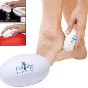 Silikon Topuk Çorabı Beyaz Renk
