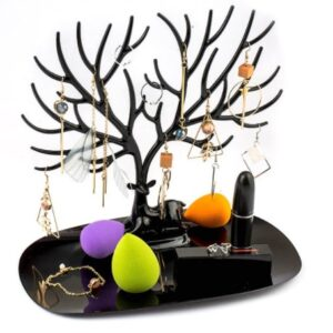 Siyah Geyik Tasarımlı Takı Mücevher Standı