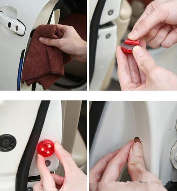 Araba Kapı Açma Sensörlü İkaz Lambası LED 3