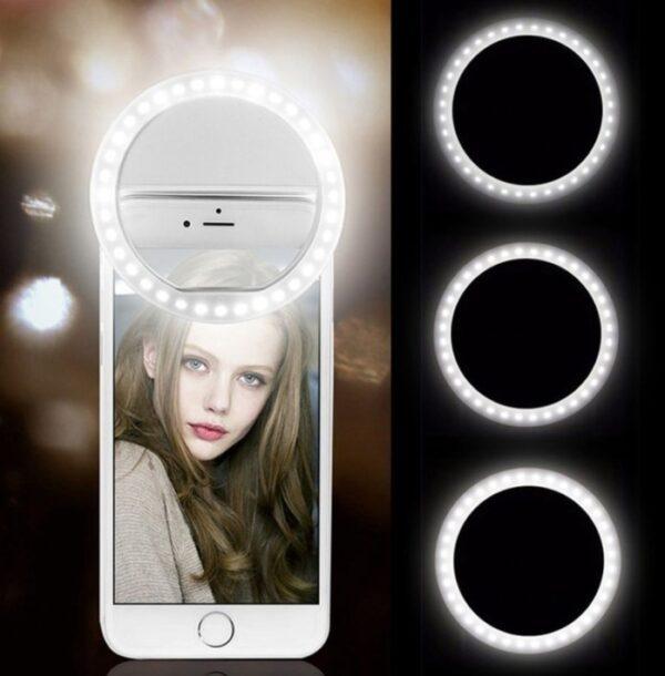 Şarjlı Led Telefon Selfie Işığı 1