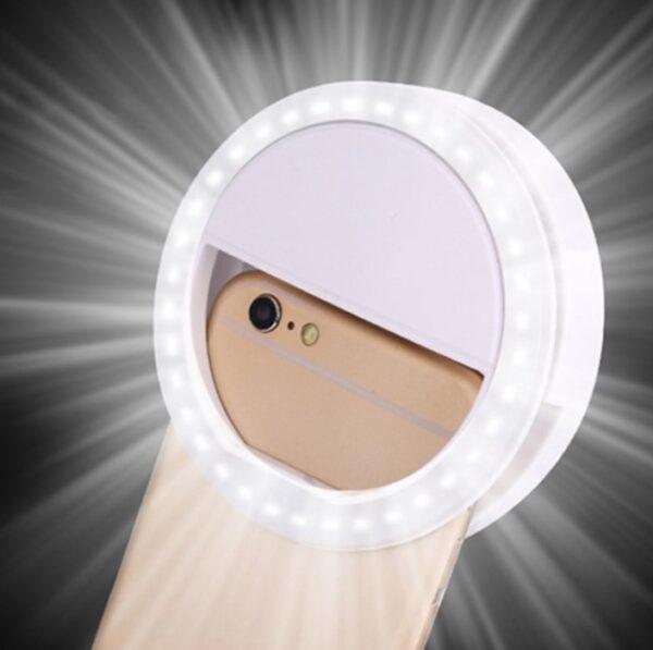 Şarjlı Ledli Telefon Selfie Işığı 2