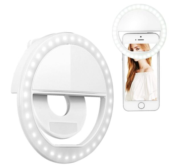 Şarjlı Ledli Telefon Selfie Işığı