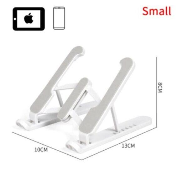 Telefon Tablet Standı Yükseklik Ayarlı Stand Beyaz