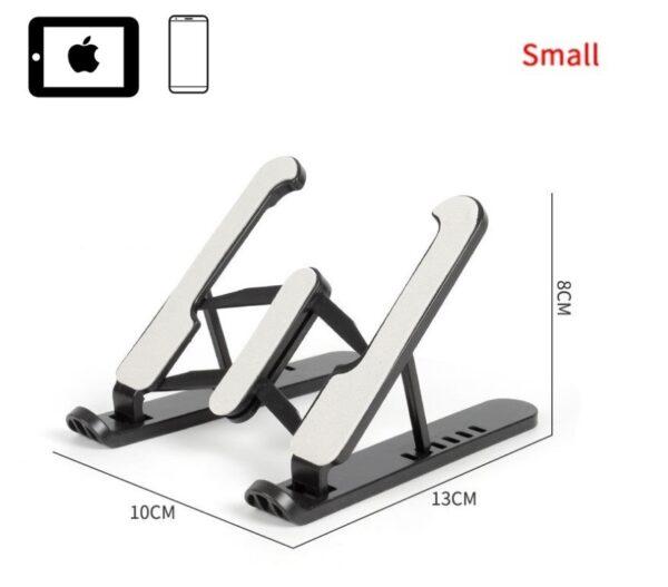 Telefon Tablet Standı Yükseklik Ayarlı Stand Siyah