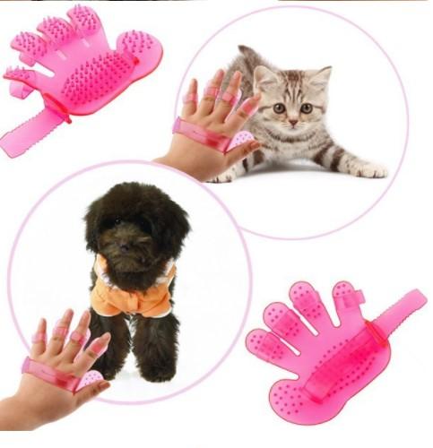 Yıkama Eldiveni Kedi Köpek İçin 3