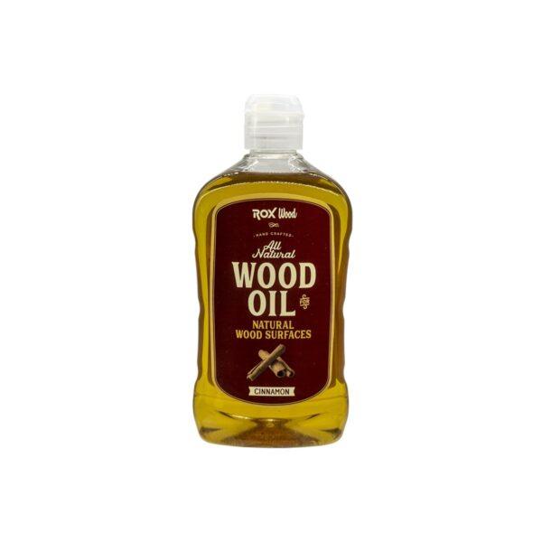 Rox Wood 0121 Tarçınlı Doğal Ahşap Yağı 500 ml 2