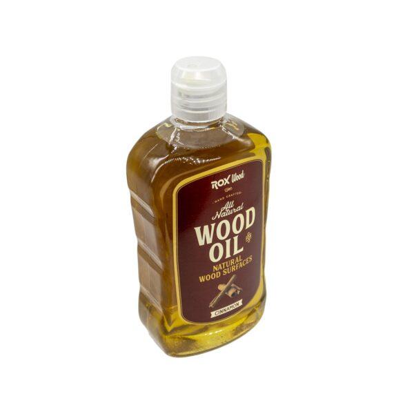 Rox Wood 0121 Tarçınlı Doğal Ahşap Yağı 500 ml 3