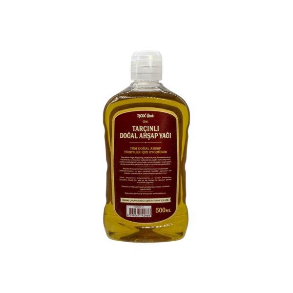 Rox Wood 0121 Tarçınlı Doğal Ahşap Yağı 500 ml 4