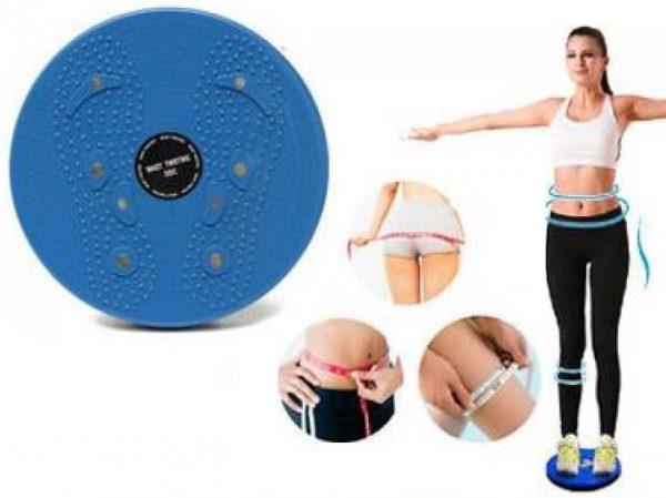 Bel İnceltici Spor Aleti Waist Twisting Disc