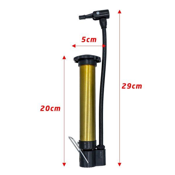 Mini El Tipi Bisiklet Tekeri Şişirme Hava Pompası 2